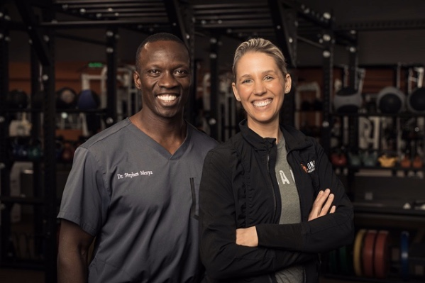 Dr. Stephen Menya Chiropractor Robbinsdale Minneapolis and Leah Menya Personal Training